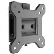 Suport perete LCD/LED Serioux, TV22T, 10-24, Tilt +10/-5, Swivel + 20/-20, VESA max 100x100, max 15Kg, profil 48mm, culoare negru