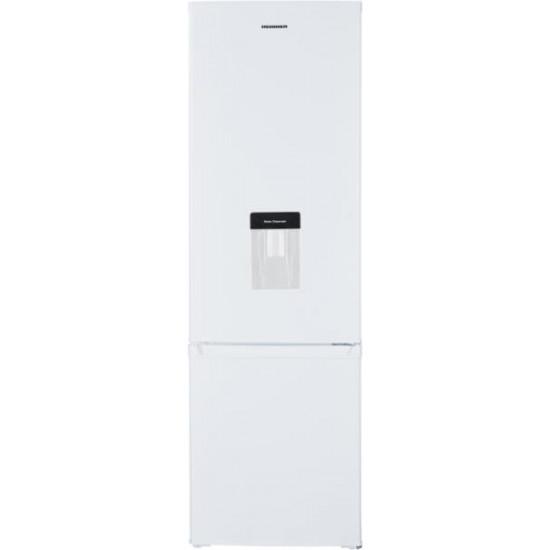 Combina frigorifica Heinner HC-H273WDF+, 260L, Clasa A+, Dozator de apa, Lumina LED, H 176 cm, Alb