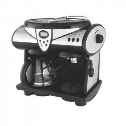 Espressor Studio Casa New Delicia Combi, 15 bar, 2 in 1, espressor de cafea si un filtru de cafea, 1850 W, timer