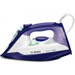 Fier de calcat Bosch Sensixx'x TDA3026010, 2600 W, 0.32 l ,160 g/min, Talpa Ceranium-Glissee, Alb/Mov