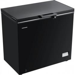Lada frigorifica Heinner HCF-205NHBKF+, 200 l, Clasa A+, Control elecronic, Iluminare LED, Waterproof Display, Negru