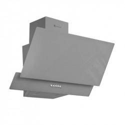 Hota decorativa Studio Casa Glam Duo Grey 60 cm, Sticla, Putere de absorbtie 300 m3/h, Gri