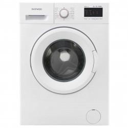 Masina de spalat rufe Daewoo DWD-FV5021-2, 8 kg, 1000 RPM, Clasa D, Afisaj electronic, Alb