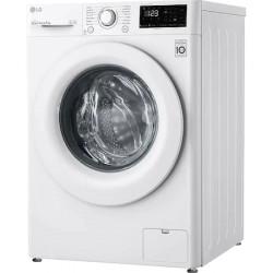Masina de spalat rufe LG F4WV308N3E, 8 kg, 1400 RPM, Clasa C, Inverter Direct Drive, Smart Diagnosis, Alb