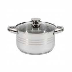 Oala inox cu capac Cooking by Heinner Myra 22x12.5 cm