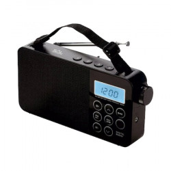 Radio digital AM/FM/SW, ceas LCD, functie alarma, temporizator oprire