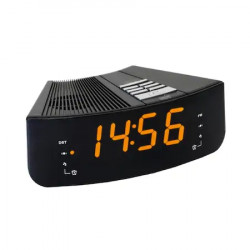 Ceas desteptator cu radio Home LTCR 02, negru, Led