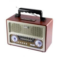 Boxa radio portabila retro, Sal RRT3B, bluetooth, 6W, USB, 3 benzi AM FM SW