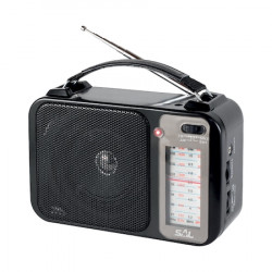 Radio portabil SAL, 4 benzi, AM-FM-SW1-SW2