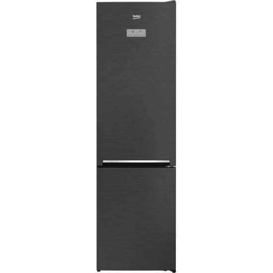 Combina frigorifica BEKO RCNA406E40LZXR, NeoFrost, 362 l, H 203 cm, Clasa A+++, dark inox