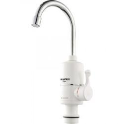 Robinet instant apa calda Albatros Magic, element de incalzire al apei din inox, 3000 W, Alb