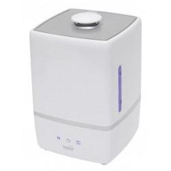 Umidificator cu ultrasunete Home UHMP5000, Rezervor 5 l, Pentru incaperi max. 40 mp, Umidificare reglabila, Ionizare, Difuzor aromaterapie (Alb)
