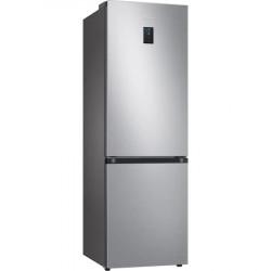 Combina frigorifica Samsung RB34T671ESA/EF, 340 l, Clasa E, NoFrost, Compresor Digital Inverter, All around coooling, H 185 cm, Argintiu