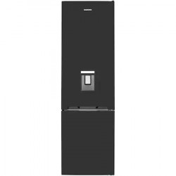 Combina frigorifica Daewoo RN-307RDQB, 367 l, Clasa E, No Frost, Dispenser apa, H 201 cm, Negru