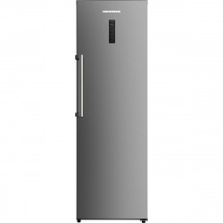 Congelator Heinner HFF-H270NFX+, 262 l, NoFrost, Display, Control electronic, 4 sertare, 2 rafturi, Clasa A+, Inox