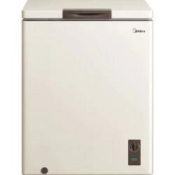 Lada frigorifica MIDEA , 142l, Functie frigider, Clasa F, Bej