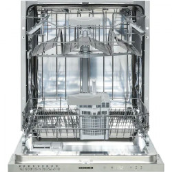 Masina de spalat vase incorporabila Heinner HDW-BI6092TE++, 12 Seturi, 9 programe, Clasa E, Control touch, Half load, Buzzer final program, Aquastop, 60 cm