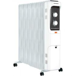 Calorifer electric Heinner HOH-S13WH, 2500 W, 13 elementi 125 x 590mm, panou de comanda mecanic, termostat ajustabil, 3 setari de temperatura