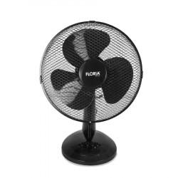 Ventilator de birou Floria ZLN-3383, Diametru 34 cm, Putere 35 W, 3 trepte de viteza, Functie oscilare